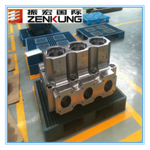 Forged oil vavle box for pressure vessles with special shape forging
